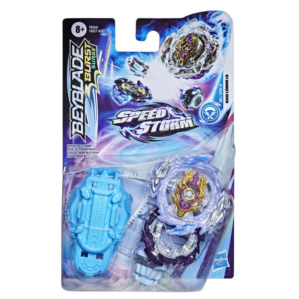 Beyblade Burst Surge Speedstorm Raid Luinor L6 Spinning Top Starter Pack -- Battling Game Top Toy with Launcher