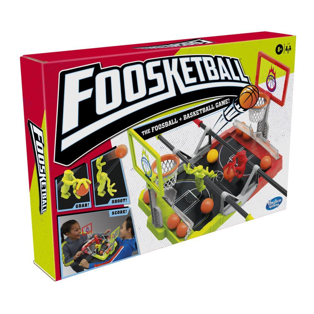Foosketball Game, The Foosball Plus Basketball Tabletop Game for Kids