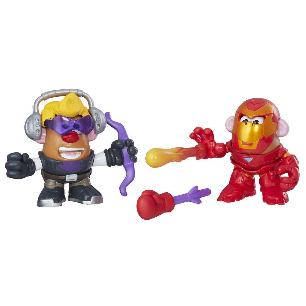 Playskool Friends Mr. Potato Head Marvel Mashups Hawkeye and Iron Man