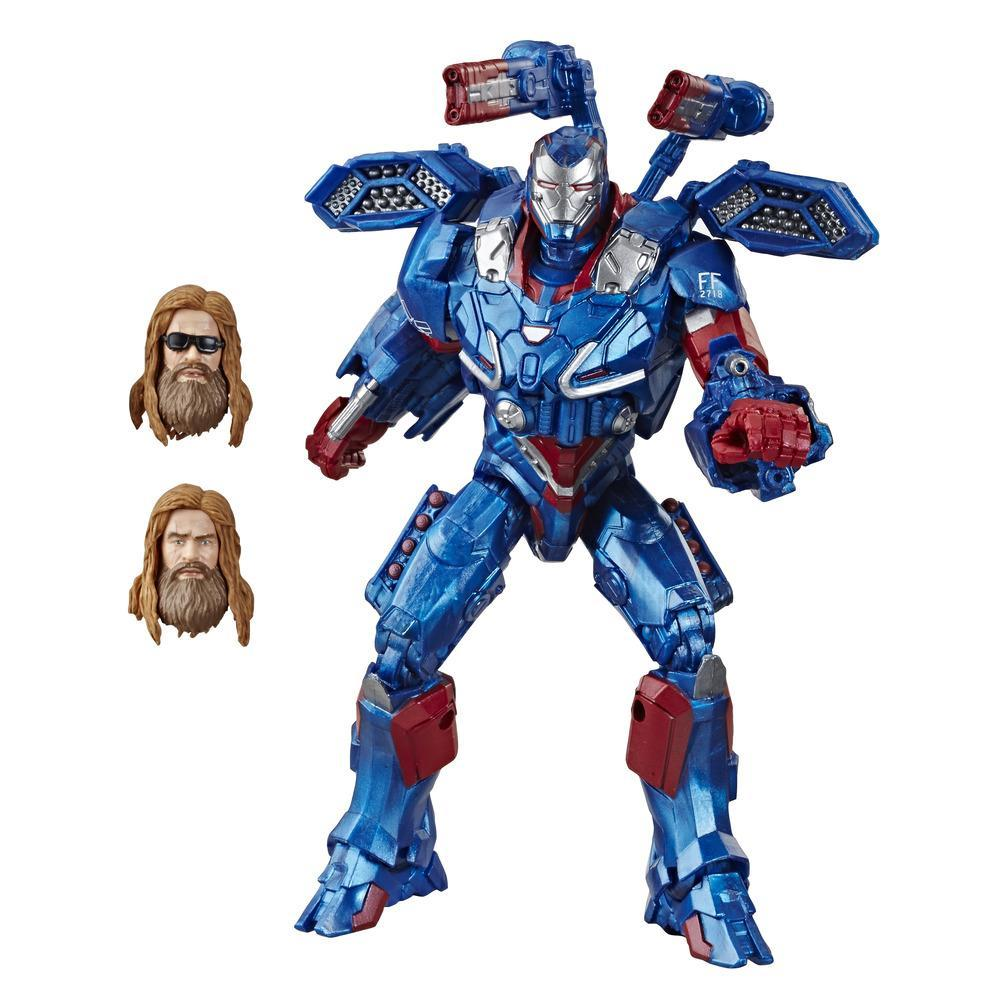 Marvel Legends Series Avengers: Endgame 6-inch Collectible Action Figure Iron Patriot Avengers Collection