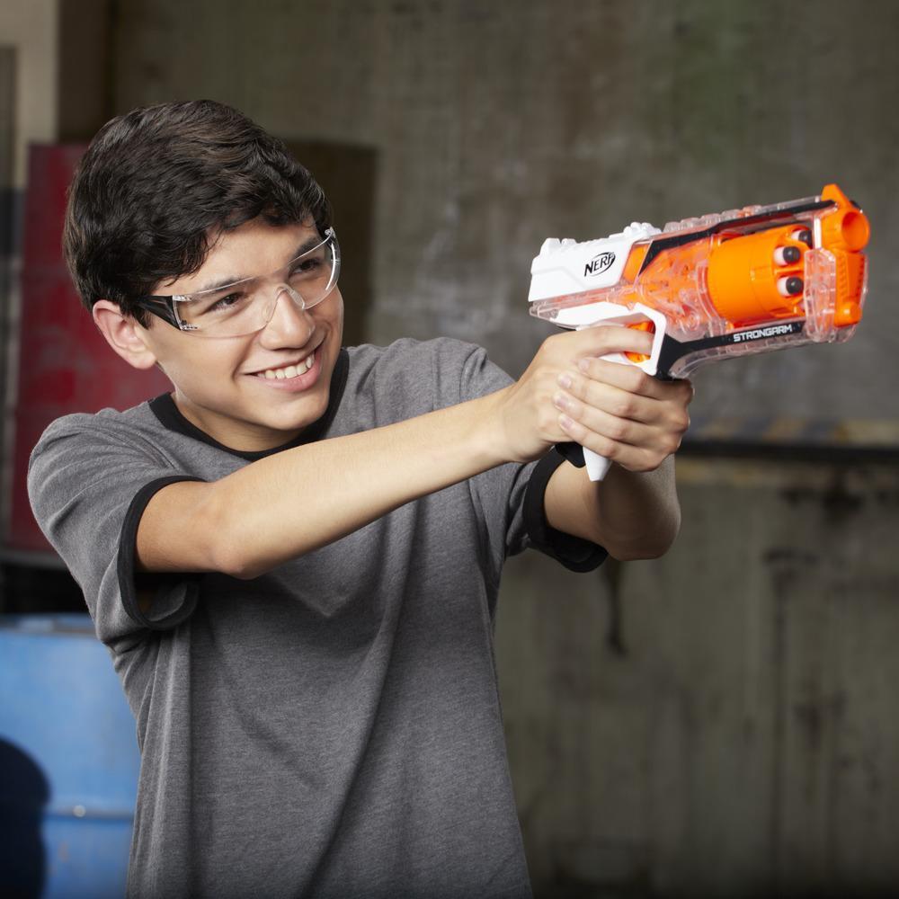 Nerf Elite Strongarm Blaster (Clear)