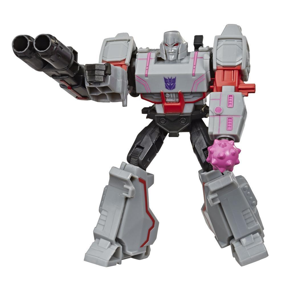 Transformers Bumblebee Cyberverse Adventures Action Attackers Warrior Class Megatron Action Figure, 5.4-inch