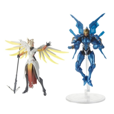 Overwatch Ultimates Series Pharah and Mercy Dual Pack 6-Inch Collectible Action Figures