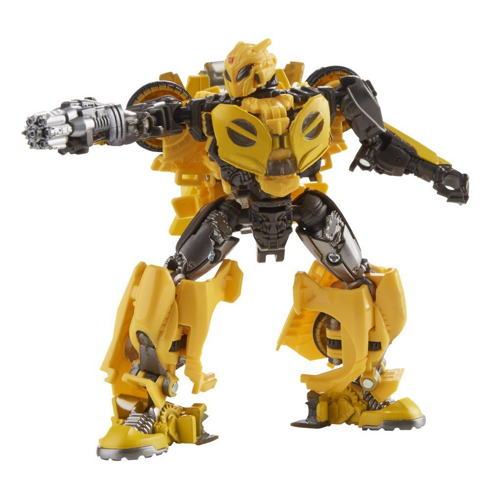 Transformers Toys Studio Series 70 Deluxe Transformers: Bumblebee B-127 Action Figure, 8 and Up, 4.5-inch