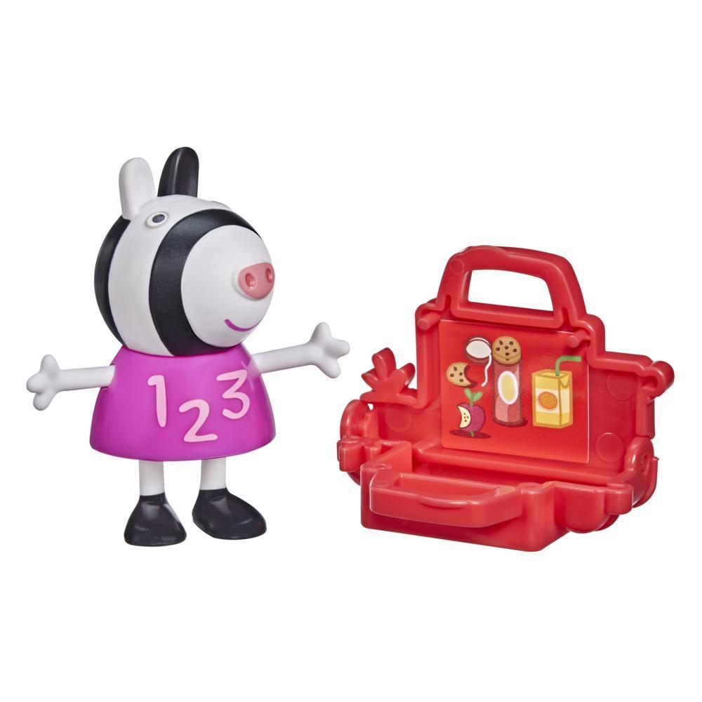 Peppa Pig Peppa's Adventures Peppa's Fun Friends Preschool Toy, Zoe Zebra Figure, Ages 3 and Up