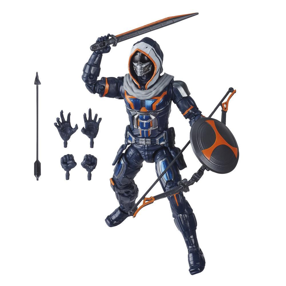 Hasbro Marvel Black Widow Legends Series 6-inch Collectible Taskmaster Action Figure With 5 Accessories, Ages 4 And Up