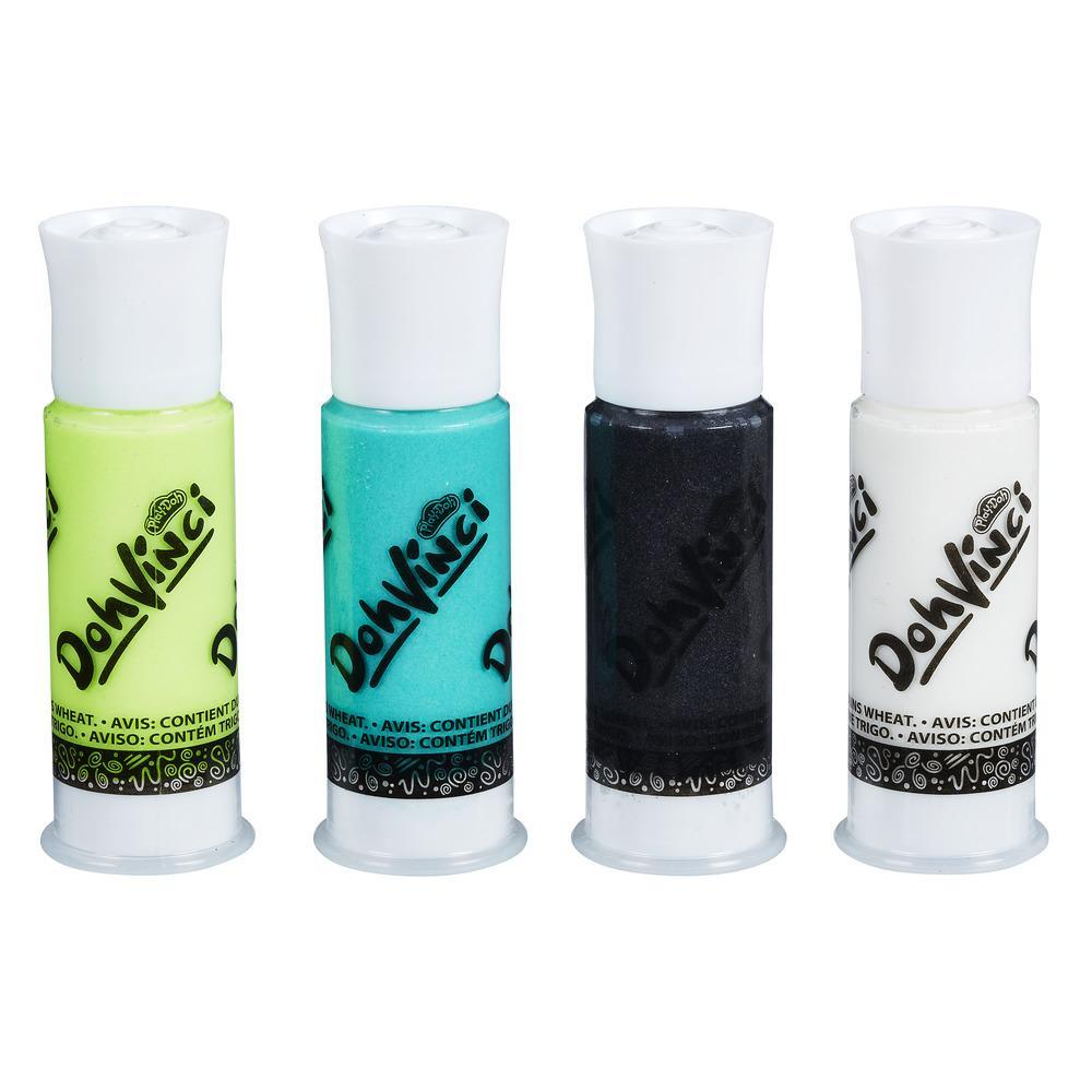 DohVinci 4-Pack Drawing Compound - Black, White, Green