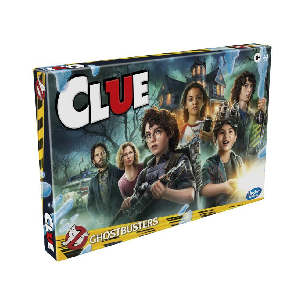 Clue: Ghostbusters Edition Board Game for Ages 8 and Up
