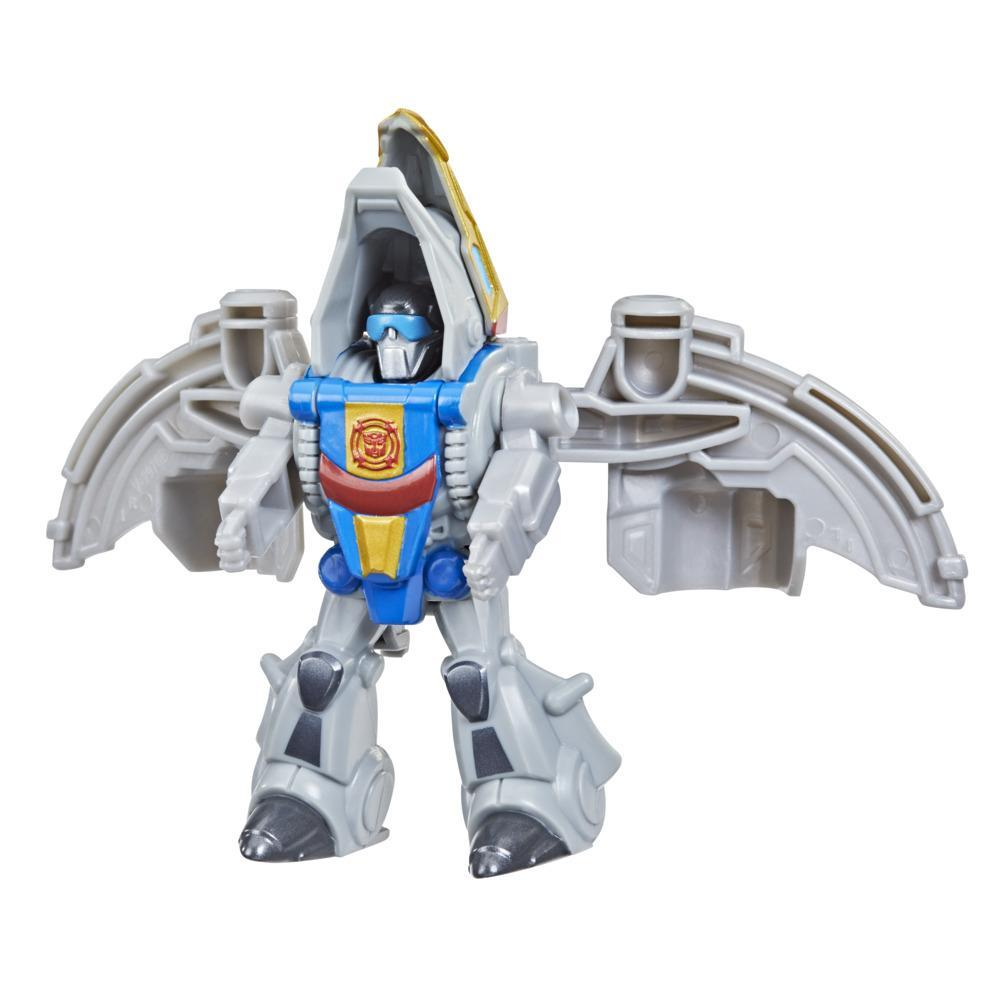 Transformers Dinobot Adventures Dinobot Strikers Dinobot Swoop with Wing Flapping Action, 2.5-Inch Toy, Ages 3 and Up
