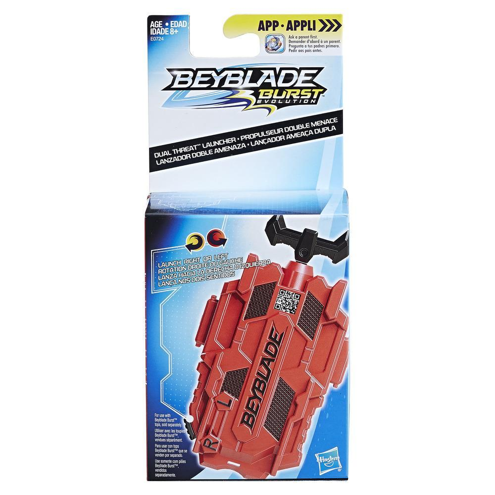 Beyblade Burst Evolution Dual Threat Launcher