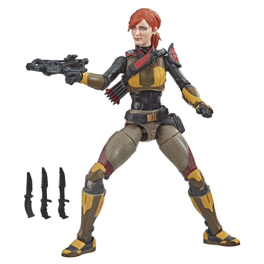 G.I. Joe Classified Series Series Scarlett Field Variant Action Figure 05 Collectible Toy with Custom Package Art