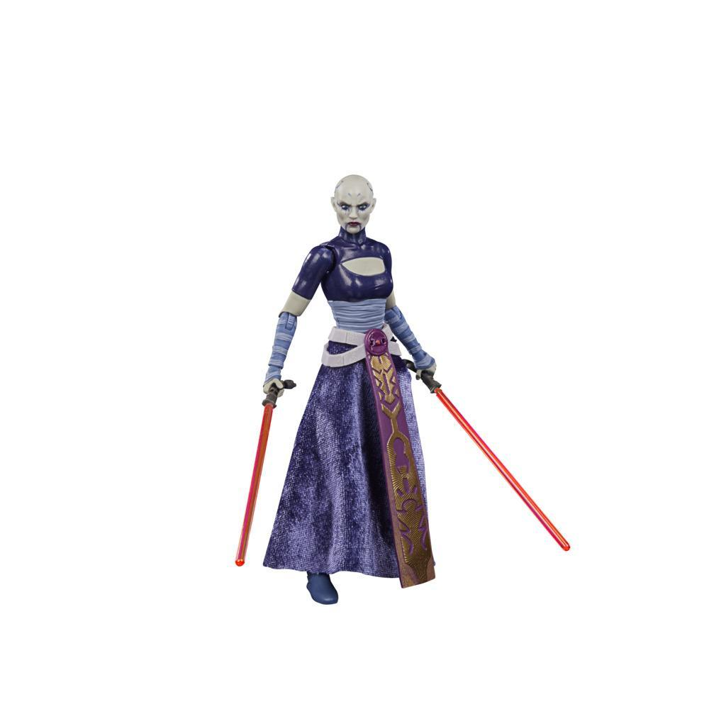 Star Wars The Black Series Asajj Ventress Toy 6-Inch Scale Star Wars: The Clone Wars Collectible Figure, Ages 4 and Up