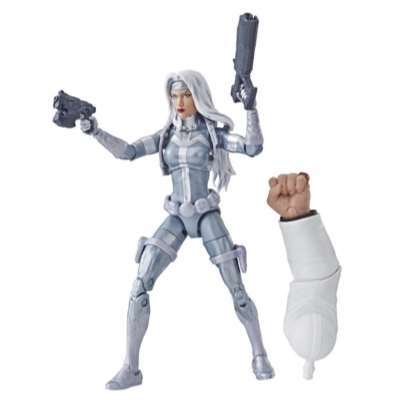Spider-Man Legends Series 6-inch Marvel's Silver Sable