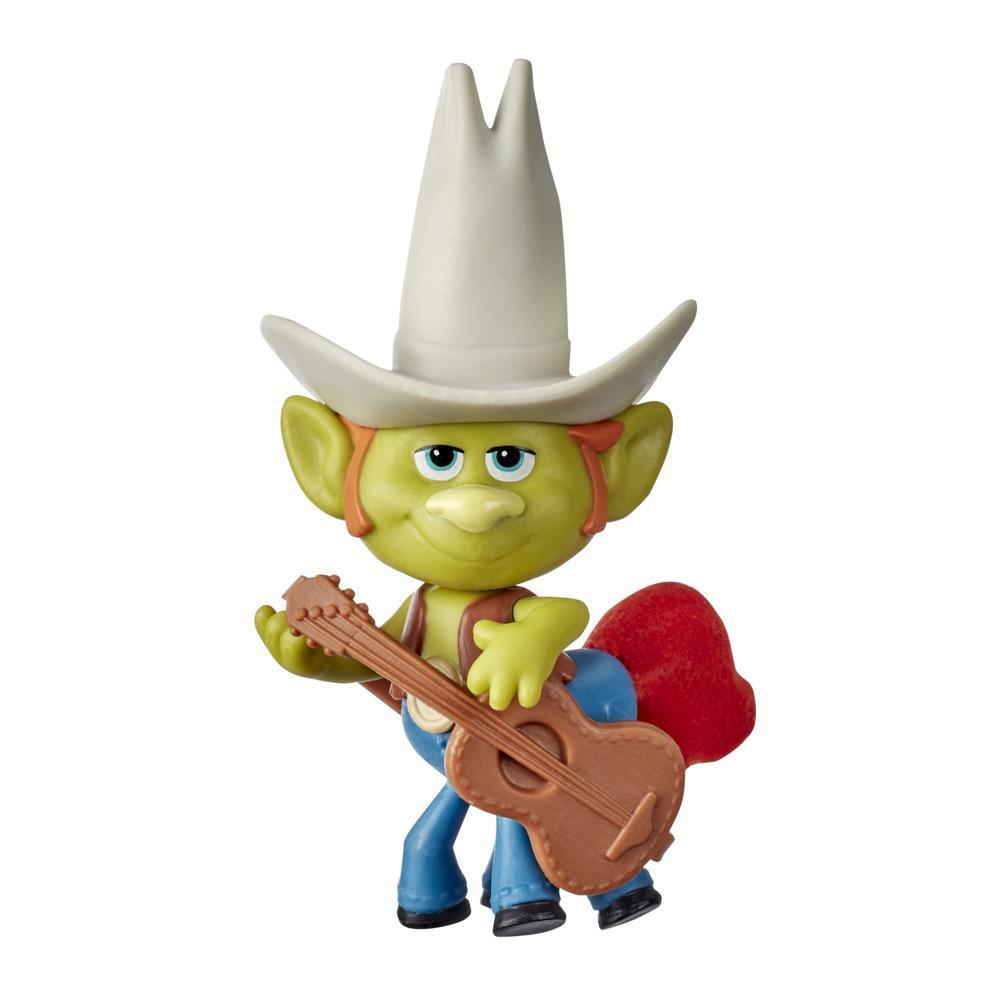 DreamWorks Trolls World Tour Hickory Doll with Guitar Accessory, Collectible Toy Figure, Kids 4 and Up