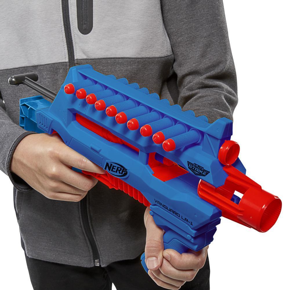 Nerf Alpha Strike Blast Kit -- Dart-Blasting Multi-Pack Includes 4 Blasters and 12 Official Nerf Elite Darts