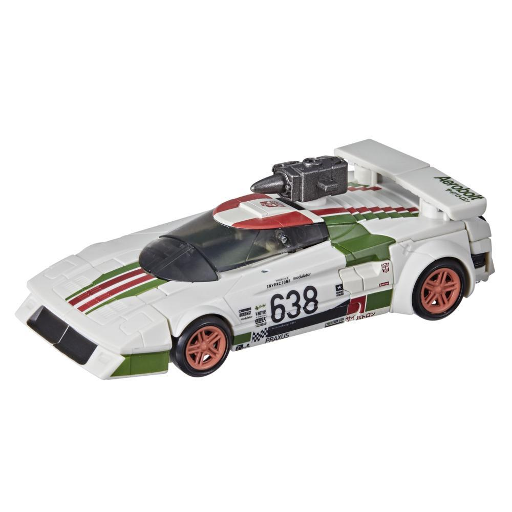 Transformers Toys Generations War for Cybertron: Kingdom Deluxe WFC-K24 Wheeljack Action Figure - 8 and Up, 5.5-inch