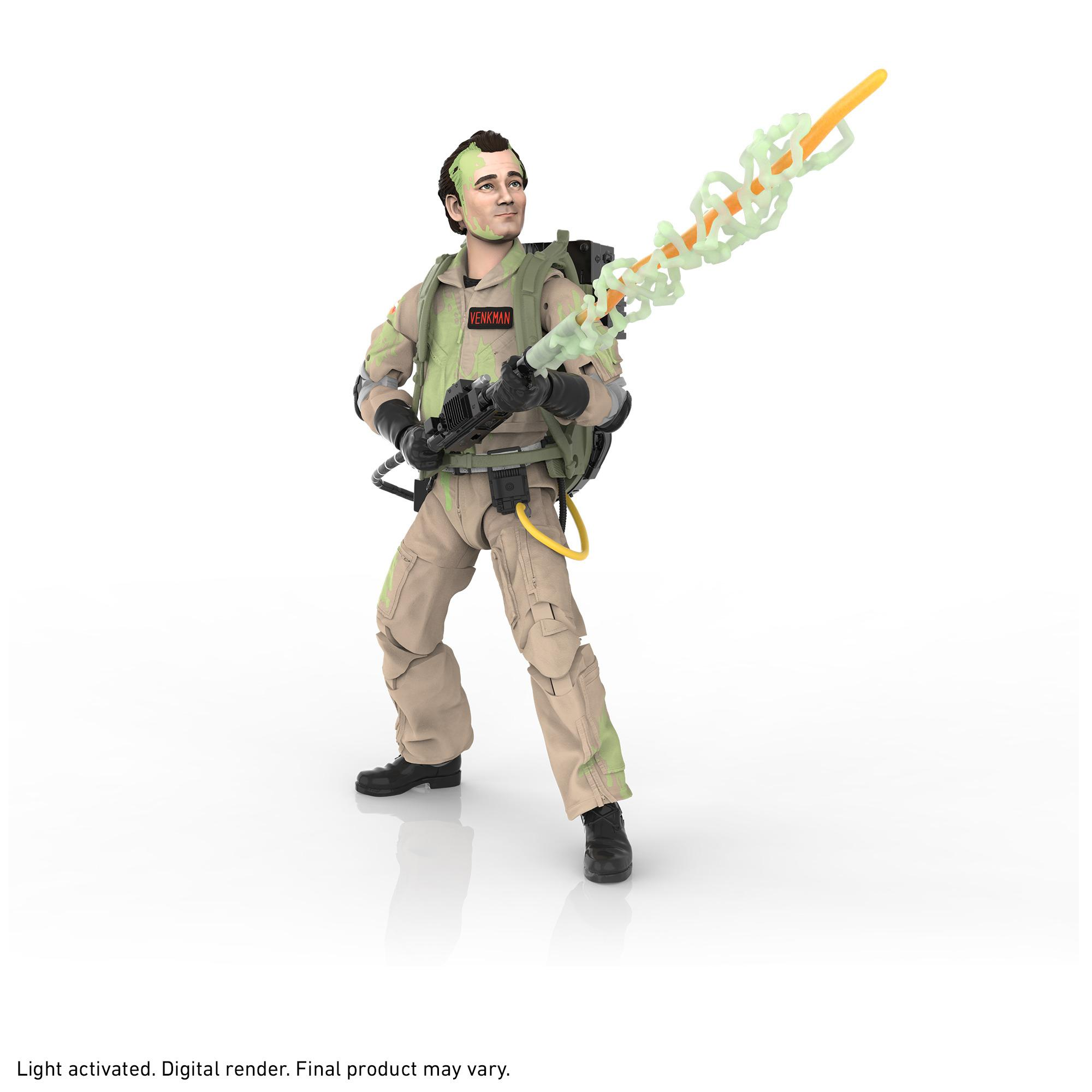 Ghostbusters Plasma Series Glow-in-the-Dark Peter Venkman Toy 6-Inch-Scale Collectible Classic 1984 Ghostbusters Figure