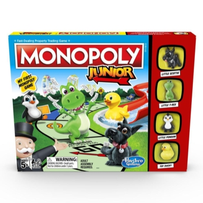 Monopoly Junior Game Instructions