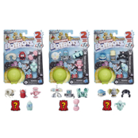 Transformers Toys BotBots Series 5 Cardio Clique 5-Pack – Mystery 2-In-1 Collectible Figures - Kids Ages 5 and Up