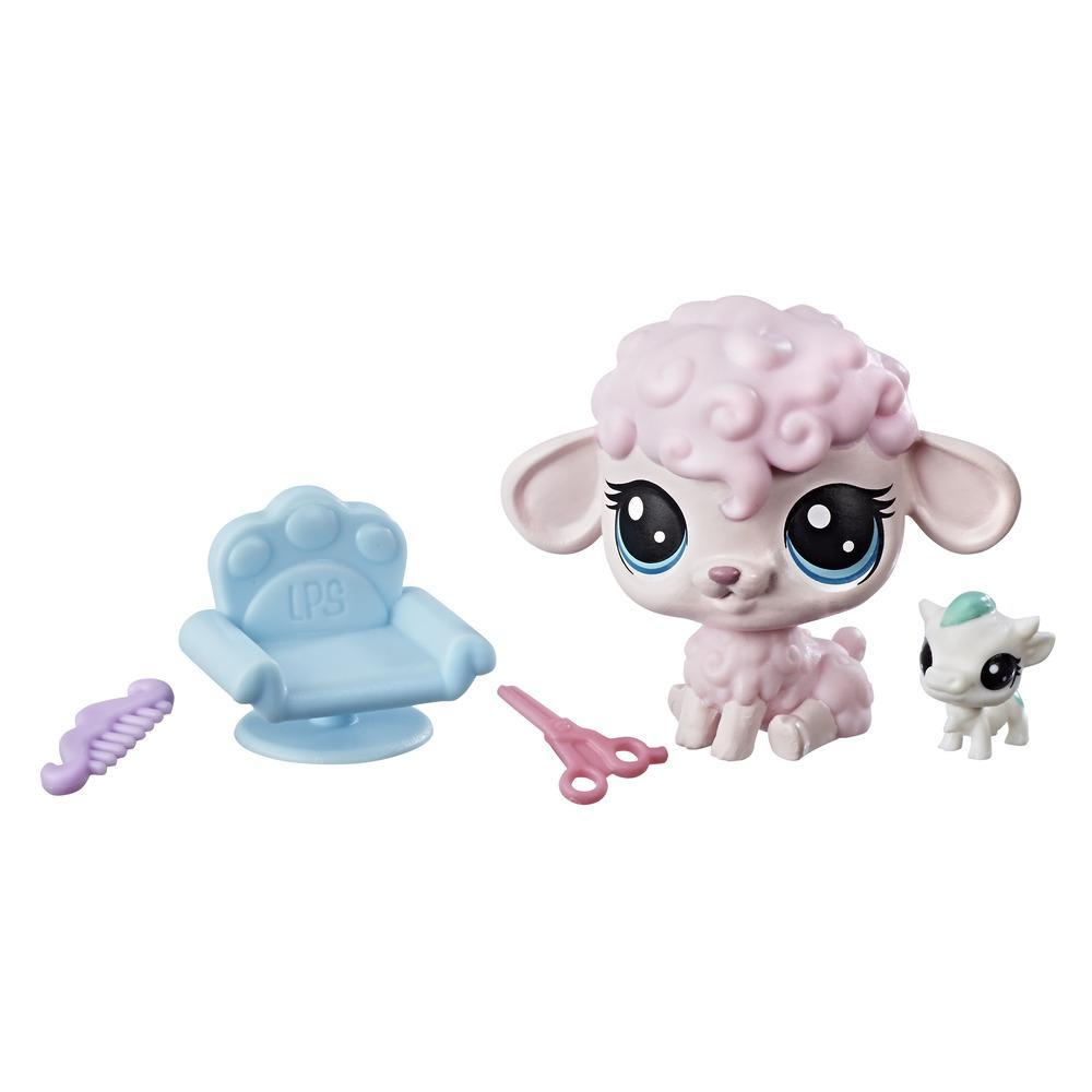 Littlest Pet Shop Petula Woolwright & Jersey Cowlick