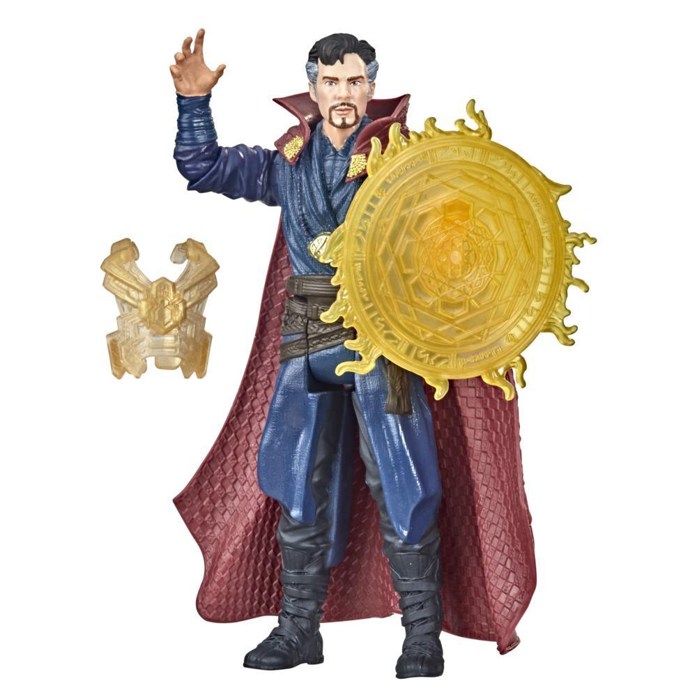 Marvel Spider-Man 6-Inch Mystery Web Gear Doctor Strange, 1 Mystery Web Gear Armor Accessory and  1 Character Accessory, Ages 4 and Up