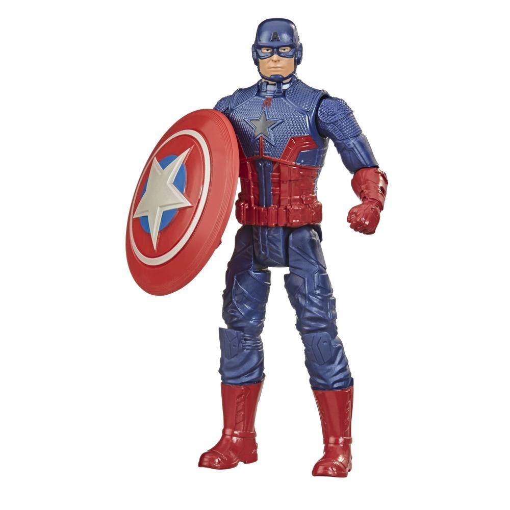 Hasbro Marvel Gamerverse 6-inch Action Figure Toy Captain America Oath Keeper Video Game-Inspired, Ages 4 And Up