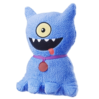 UglyDolls Feature Sounds Ugly Dog, Stuffed Plush Toy that Talks, 9.5 inches tall