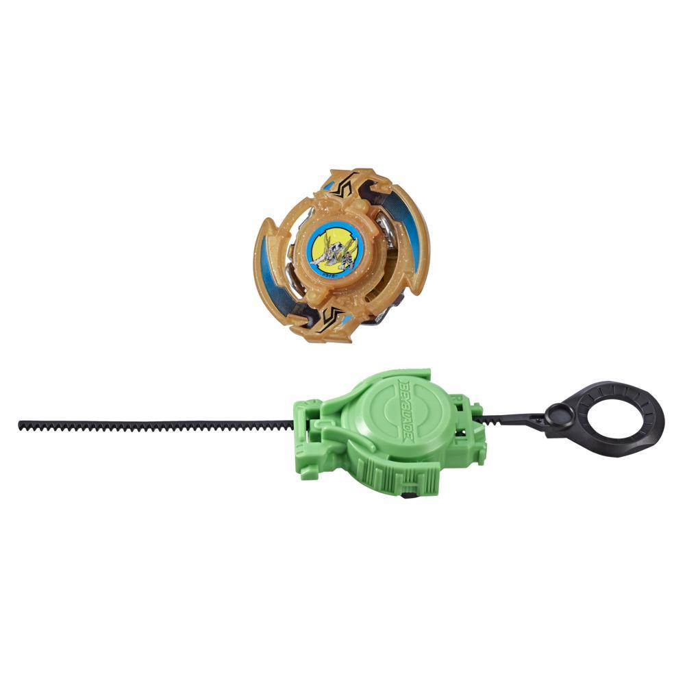 Beyblade Burst Rise Slingshock Phantom Driger S Starter Pack -- Battling Top Toy and Right/Left-Spin Launcher