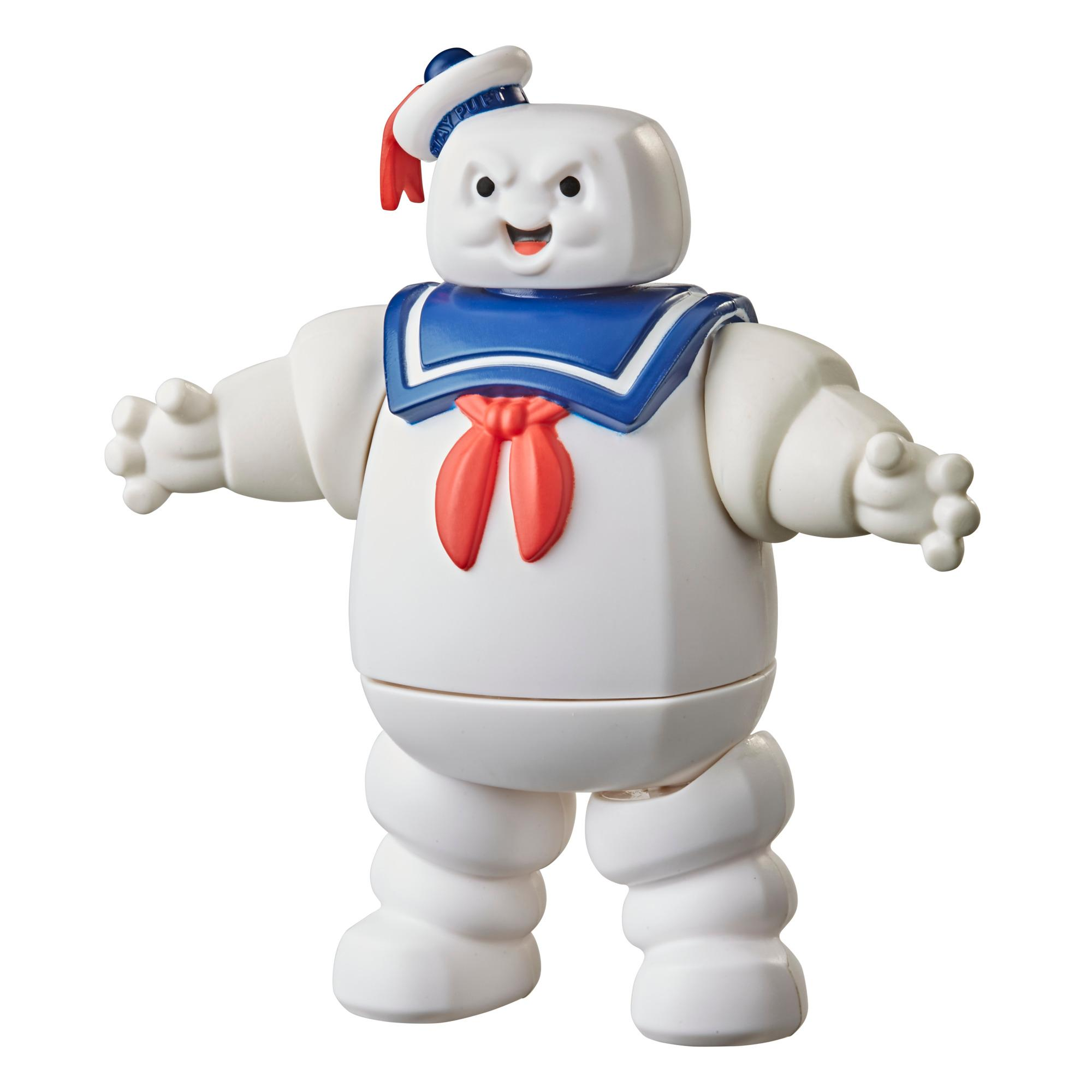 Ghostbusters Fright Feature Stay Puft Marshmallow Man Ghost Figure with Fright Feature, Toys for Kids Ages 4 and Up
