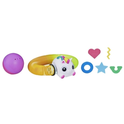 Zoops Electronic Twisting Zooming Climbing Toy Rainbow Unicorn Pet Toy