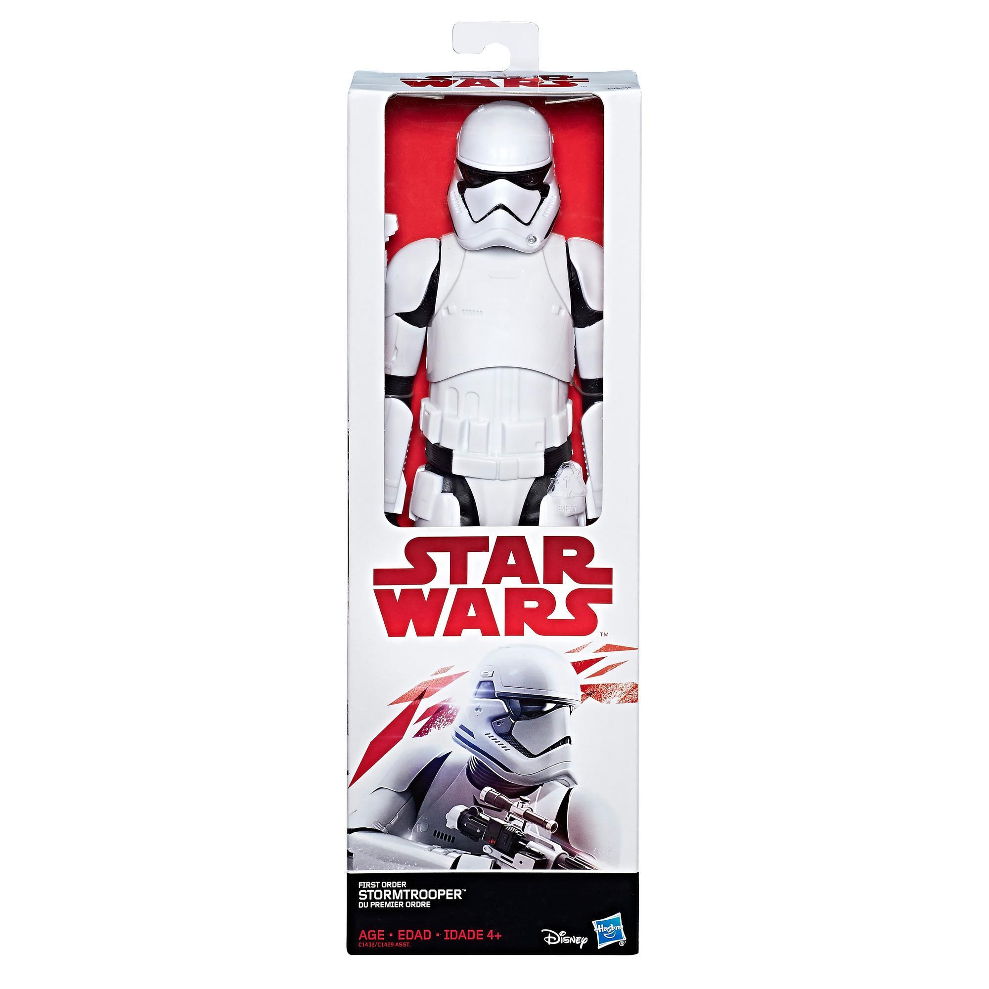 star wars the last jedi 12 inch first order stormtrooper. Black Bedroom Furniture Sets. Home Design Ideas