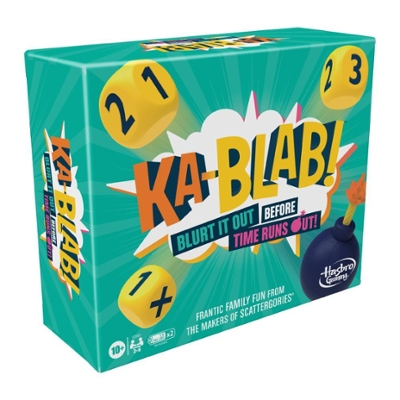 Ka-Blab! Game for Families, Teens, and Kids Ages 10 and Up, Family-Friendly Party Game for 2-6 Players