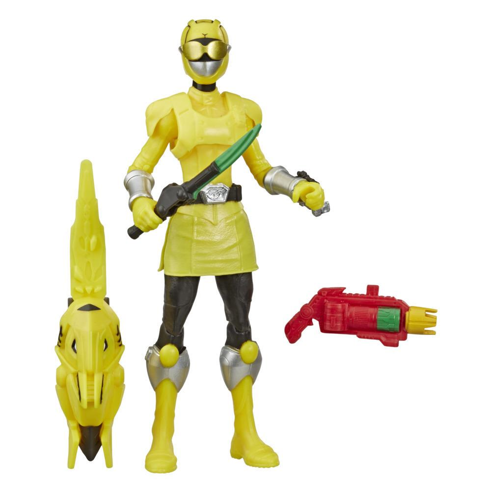 Power Rangers Beast Morphers Beast-X Yellow Ranger 6-inch Action Figure Toy inspire by the Power Rangers TV Show