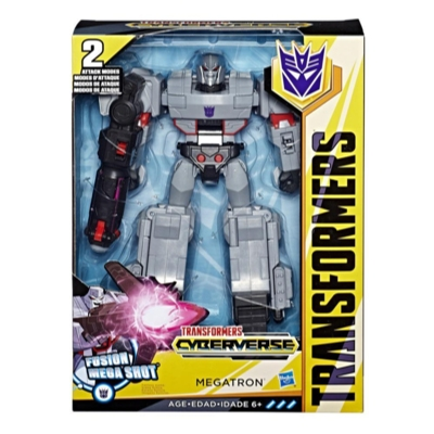 Transformers Toys Cyberverse Action Attackers Ultimate Class Megatron Action Figure