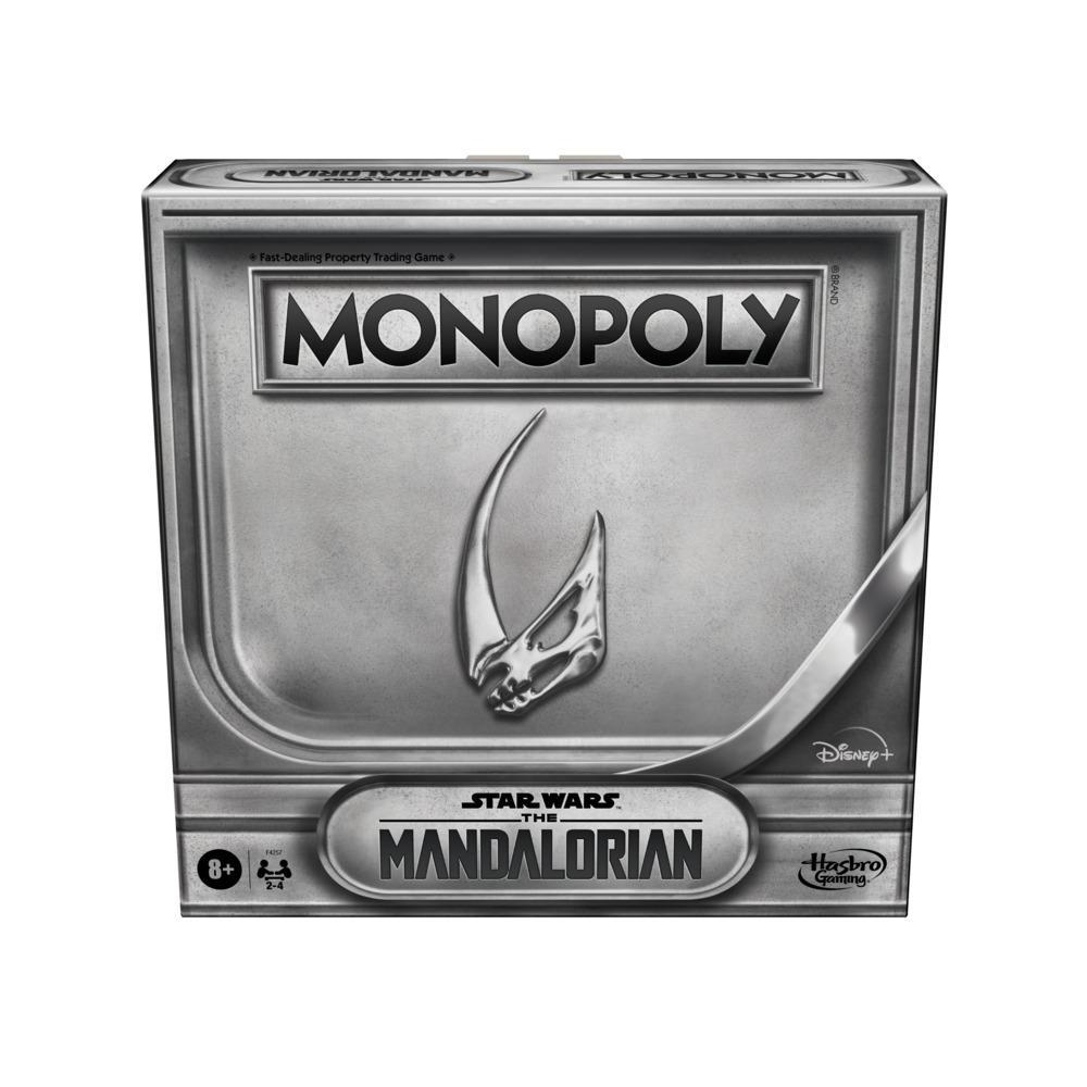 Monopoly: Star Wars The Mandalorian Edition Board Game, Inspired by Season 2, Protect Grogu From Imperial Enemies
