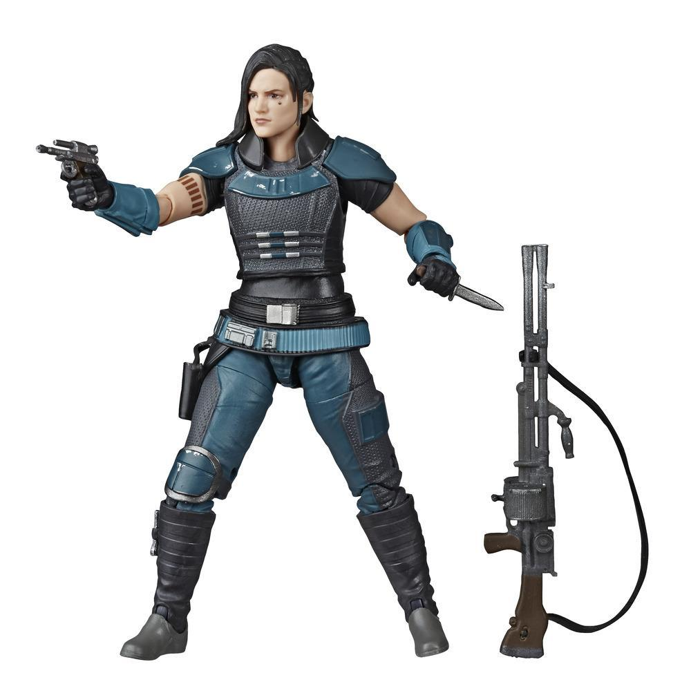 Star Wars The Black Series Cara Dune Toy 6-inch Scale The Mandalorian Collectible Action Figure, Kids Ages 4 and Up
