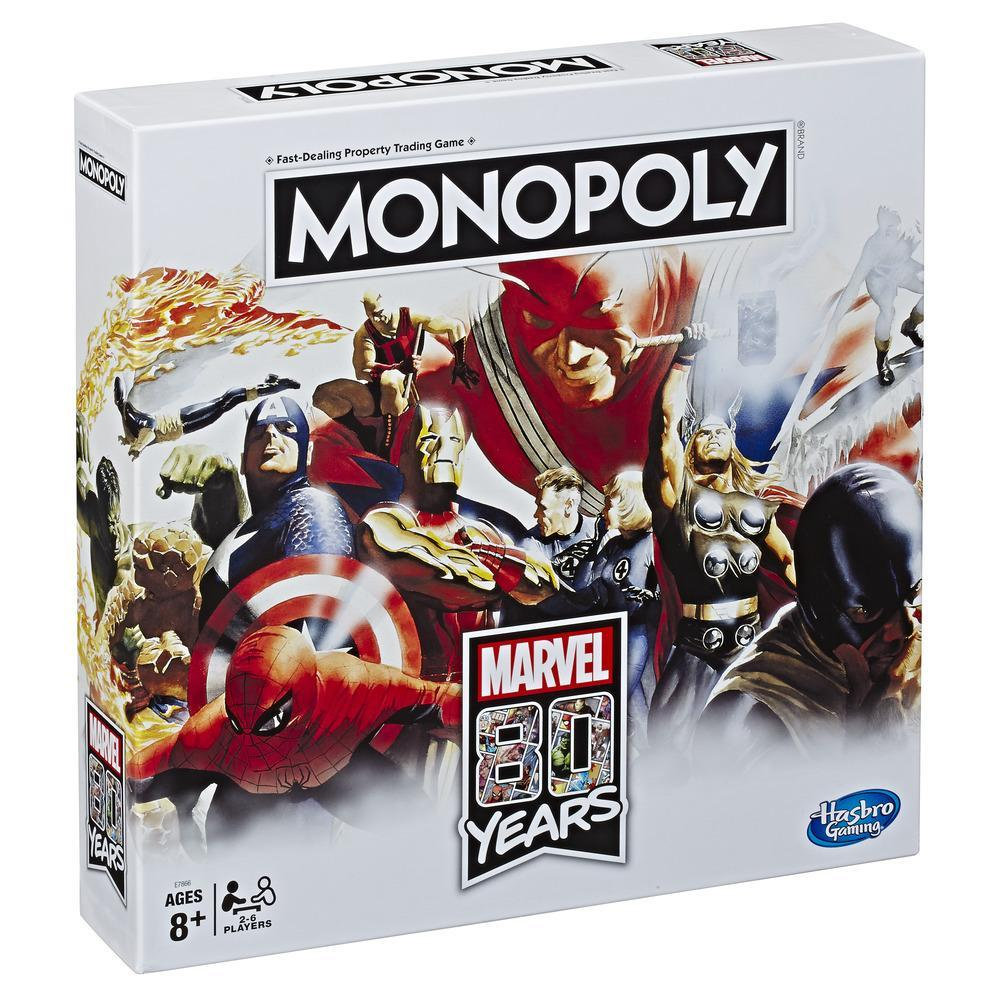 Monopoly: Marvel 80 Years Edition Board Game