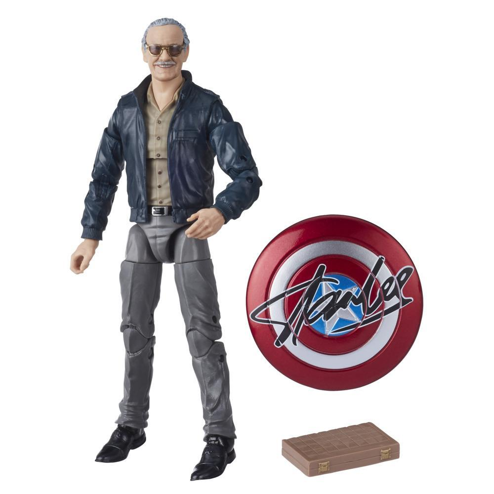 Hasbro Marvel Legends Series 6-inch Collectible Action Figure Toy Marvel's The Avengers cameo Stan Lee