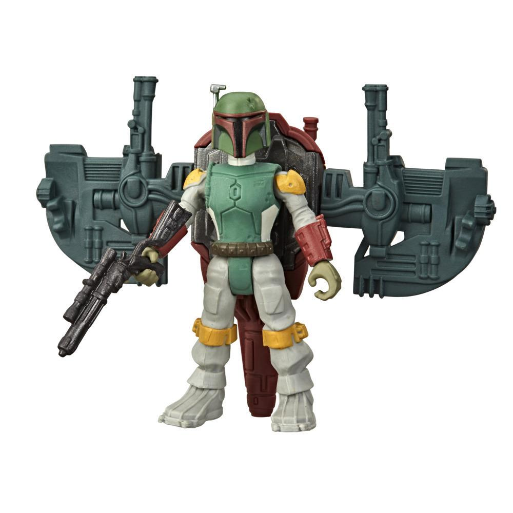 Star Wars Mission Fleet Gear Class Boba Fett Capture in the Clouds 2.5-Inch-Scale Figure and Vehicle, Kids Ages 4 and Up