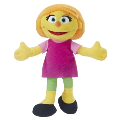 Playskool Friends Sesame Street Julia Mini Plush