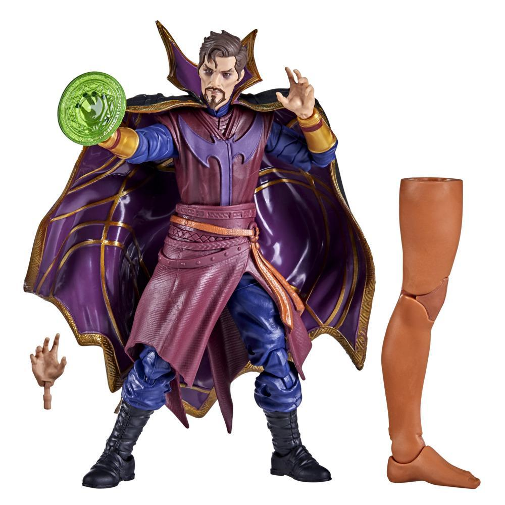 Marvel Legends Series 6-inch Scale Action Figure Toy Doctor Strange Supreme, Includes Premium Design, 1 Accessory, and Build-a-Figure Part