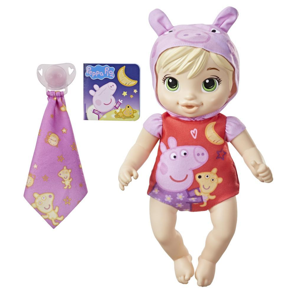 Baby Alive Goodnight Peppa Doll, Peppa Pig Toy, First Baby Doll, Soft Body, Kids Ages 2 Years and Up, Blonde Hair