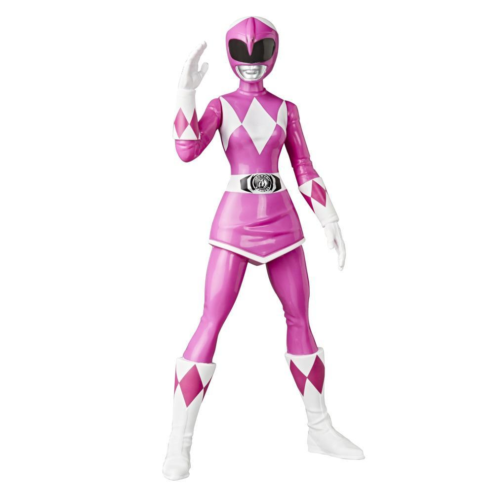 Power Rangers Mighty Morphin Pink Ranger Figure 9.5-inch Scale Action Figure Toy for Kids Ages 4 and Up