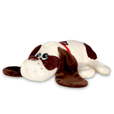 Pound Puppies Classic 80's Collection - Cream with Medium Brown Spots