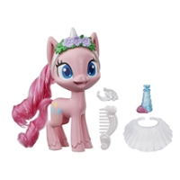 My Little Pony Pinkie Pie Potion Dress Up Figure -- 5-Inch Pink Pony Toy with Fashion Accessories, Brushable Hair
