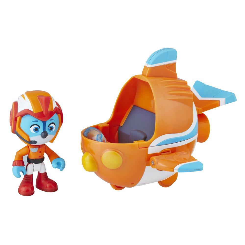 Top Wing Swift figure and vehicle