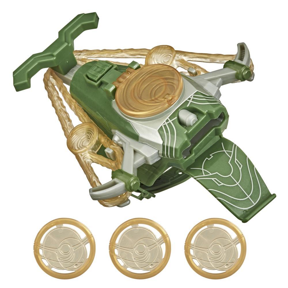 Marvel The Eternals Cosmic Disc Launcher Toy, Inspired By The Eternals Movie, Includes 3 Discs,  For Kids Ages 5 and Up