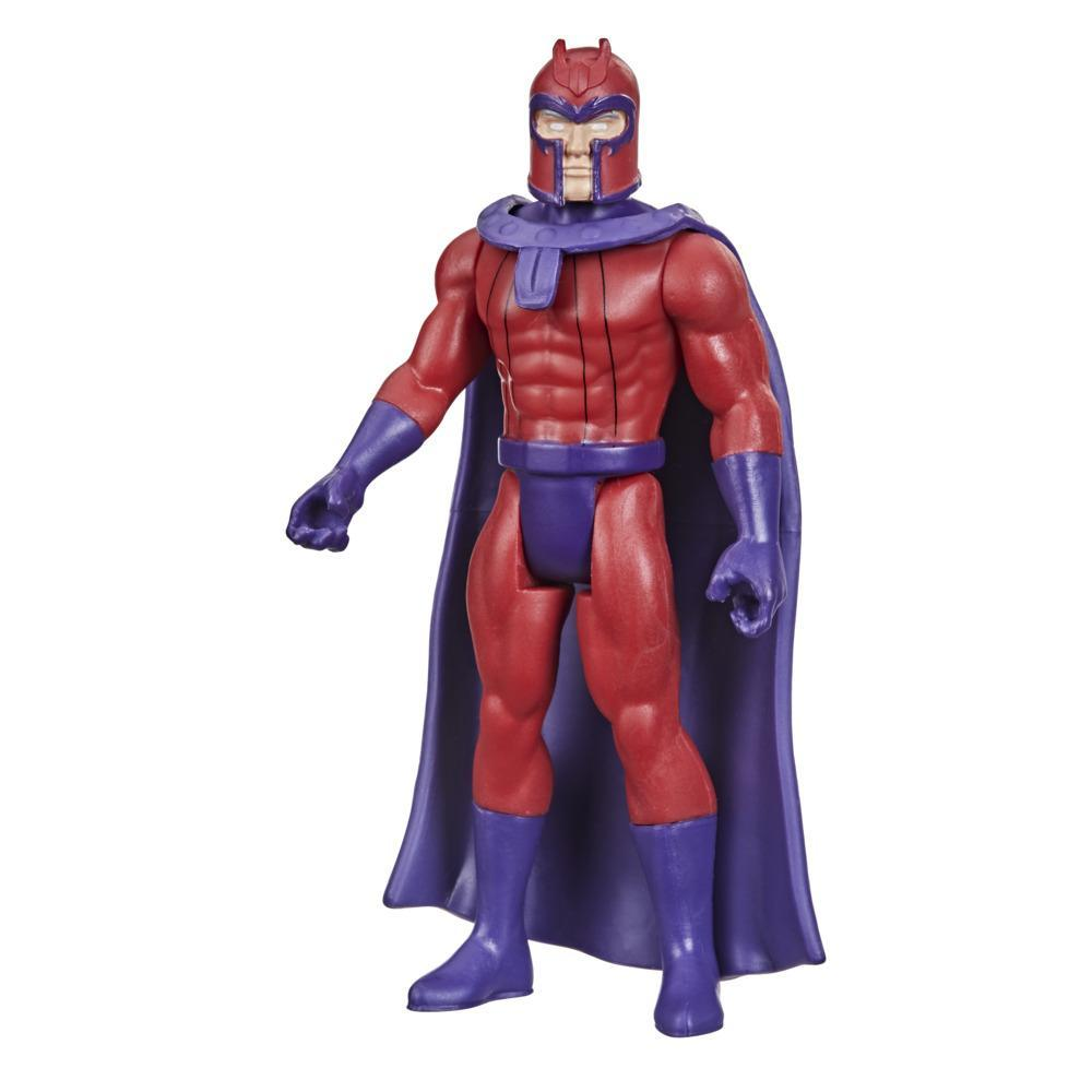 Hasbro Marvel Legends Series 3.75-inch Retro 375 Collection Magneto Action Figure Toy