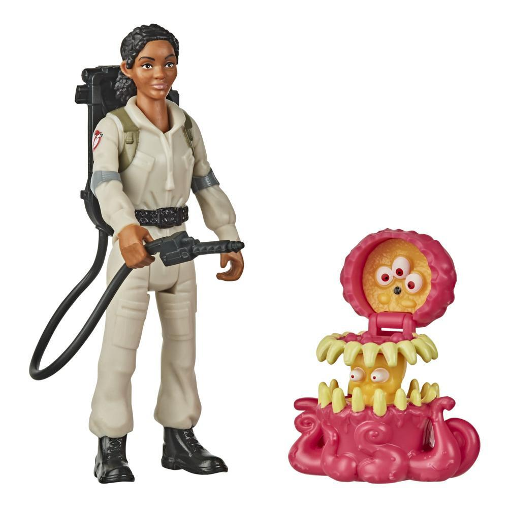 Ghostbusters Fright Features Lucky Figure with Interactive Ghost Figure and Accessory, Toys for Kids Ages 4 and Up