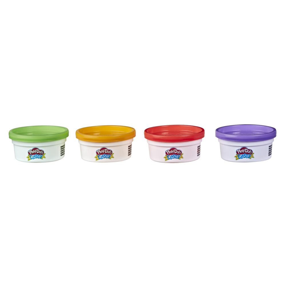 Play-Doh Elastix Compound 4-Pack of Bold Colors